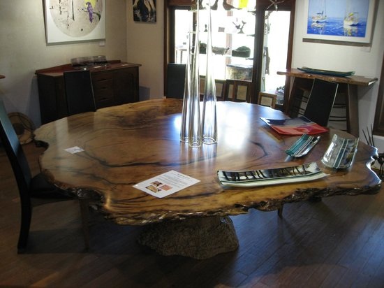Boranup Gallery: Jarrah Burl Table