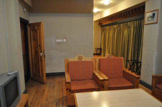 Hotel Sonam: Large room view from sofa area