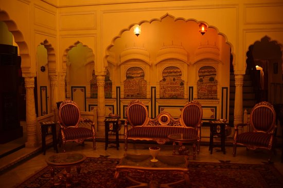 Shahpura House : hall