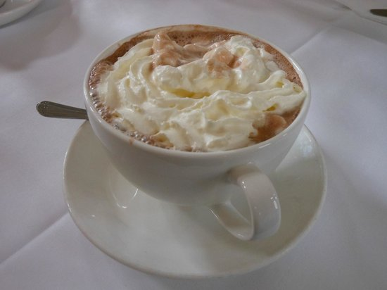 The Pump Room Restaurant : Hot Chocolate