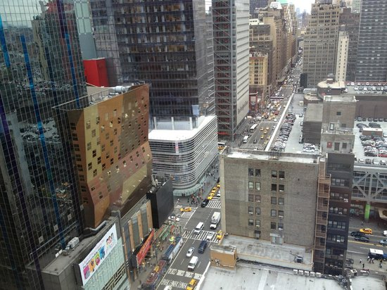 InterContinental New York Times Square: Higher floors with broader view