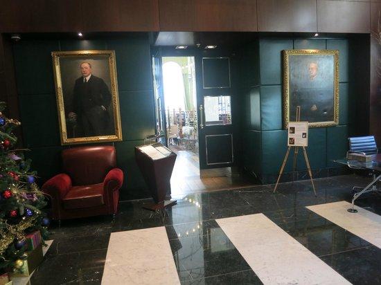 Sofitel London St James : lobby et l 'entrée du restaurant