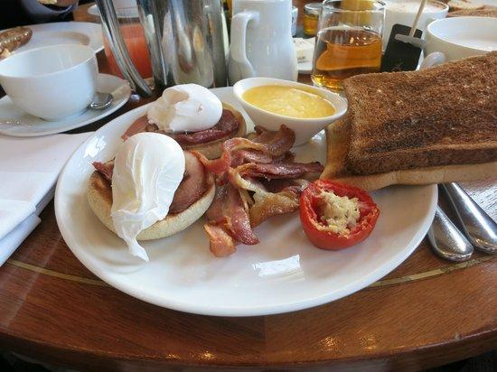 Sofitel London St James : petit déjeuner à la carte