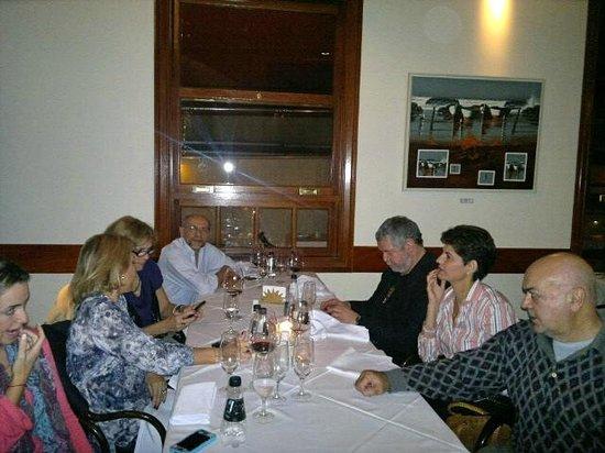El Uruguayo: Jantar fabuloso ao lado de pessoas maravilhosas...