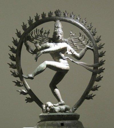 Musée National des Arts Asiatiques - Guimet : Shiva signore della danza, bronzo epoca Chola XI sec.
