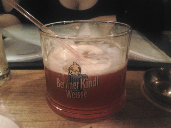 berliner weisse picture of brauhaus lemke berlin tripadvisor. Black Bedroom Furniture Sets. Home Design Ideas