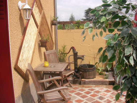 Vallee des Vignes Chambres d'Hotes : Studio private terrace