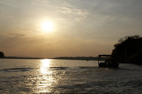 Selous River Camp : Sunset