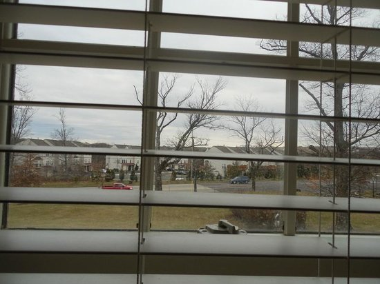 Joseph Ambler Inn: View from room 513 of John Roberts building