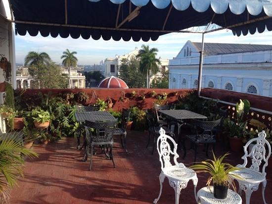 Casa Colonial Martha: La terraza