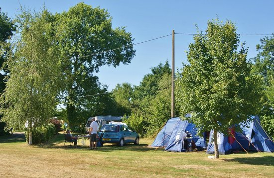 Camping Le Fief Angibaud : Large field