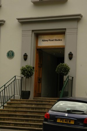 Abbey Road: вход в студию