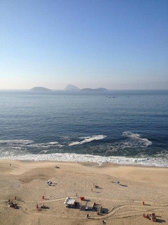 Sol Ipanema Hotel : vue de la plage