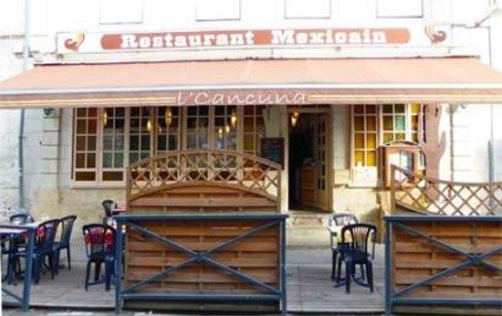 restaurant l 39 cancuna dans saumur avec cuisine mexicaine. Black Bedroom Furniture Sets. Home Design Ideas