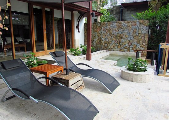 Nakamanda Resort & Spa : Villa jaccuzi