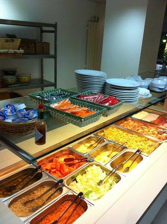 Hotel Cims : buffet du soir