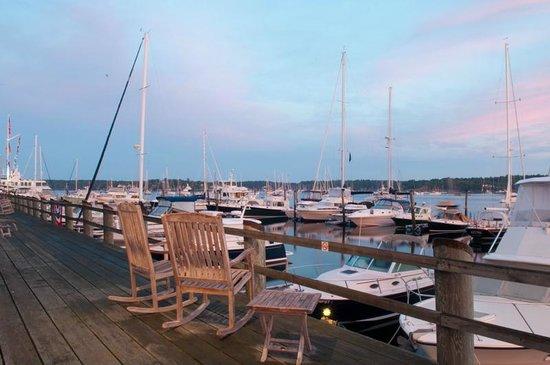 Brown's Wharf Inn : Marina