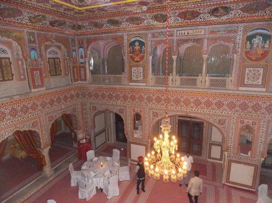Samode Palace: salle de réception