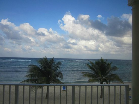 Wyndham Reef Resort: View from our second floor unit's balcony.