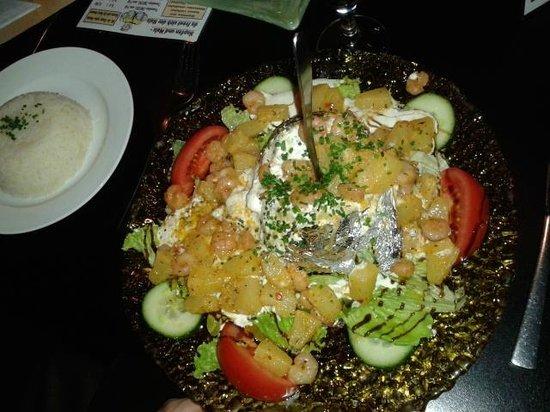 Kupferkessel: California potatoe (10,5 euro)