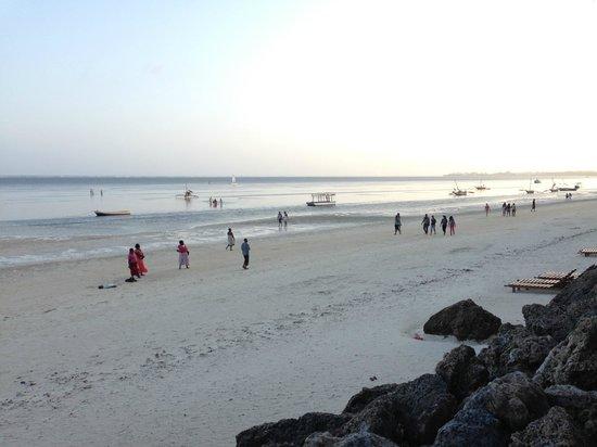 Severin Sea Lodge: Strand