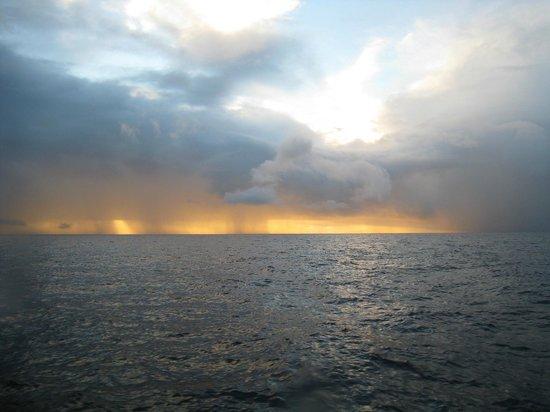 Extended Horizons : Amazing sunrise/rainstorm