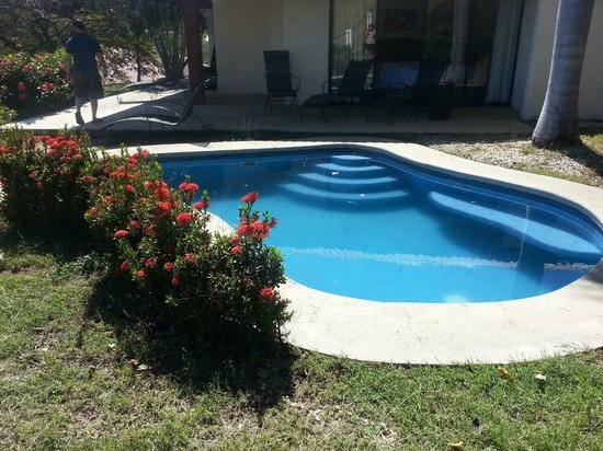Mini Pool By The Room Picture Of Ocotal Beach Resort Playa Ocotal Tripadvisor