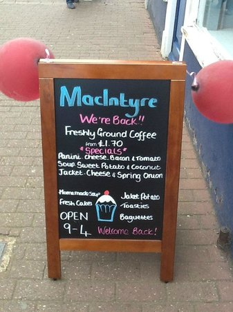 MacIntyre Coffee Shop