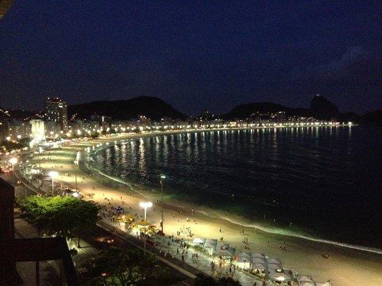 Sofitel Rio de Janeiro Copacabana : Vista da Suíte um Luxo !!