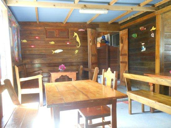 Restaurant le Titiris: l'intérieur du restaurant