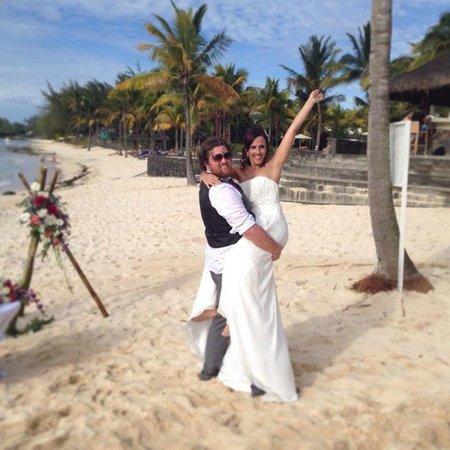 Le Meridien Ile Maurice: Wedding on the beach!