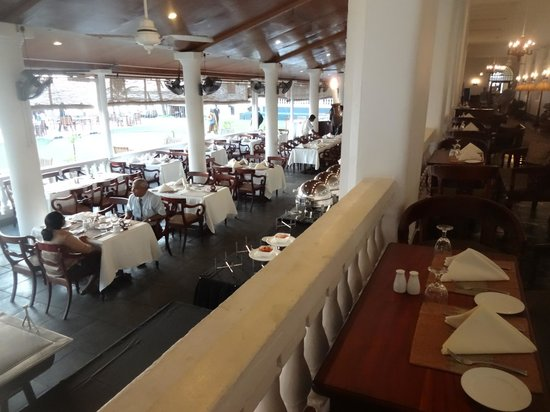 Galle Face Hotel Colombo: Dining room