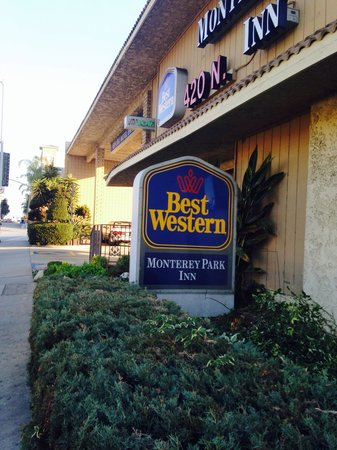 Monterey Park Inn: Best wester off n Atlantic blvd