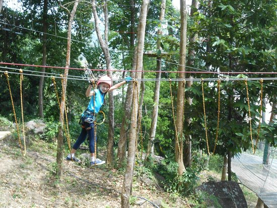 Jungle Xtrem Adventures Park: I can do it!