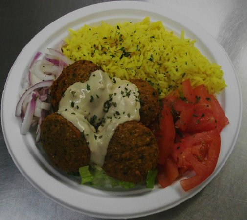 Greek Cafe: Falafel Plate