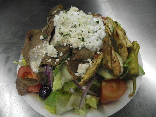 Greek Cafe: House Special Salad