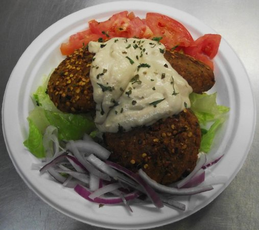 Greek Cafe: Stuffed Falafel Appetizer
