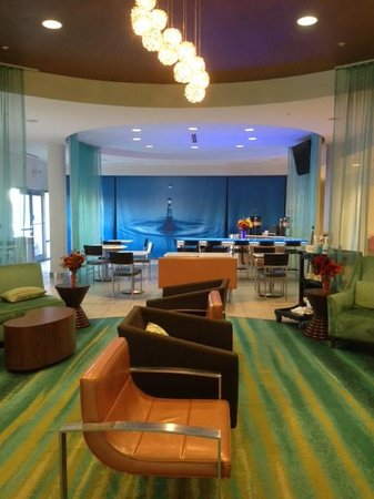 SpringHill Suites Columbia: Lobby of the hotel