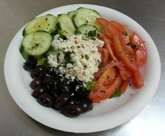 Greek Cafe: Jerry Special Salad