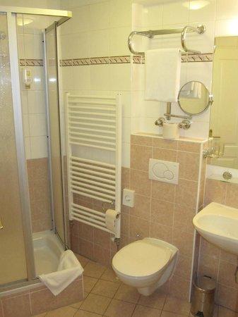 Suite Hotel: Bad mit Dusche Zi 56