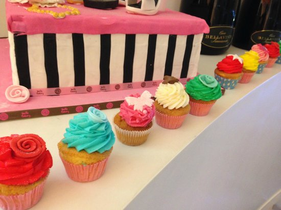 Boscolo Milano, Autograph Collection : Cupcake bakery on location