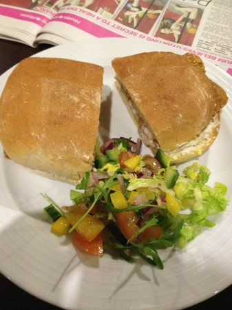 Hunley Hotel and Golf Club : Posh Fish Finger Sandwich