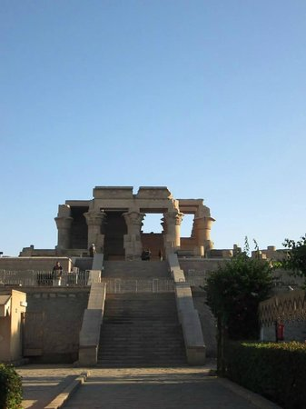 Temple of Kom Ombo: Kom Ombo early in the morning