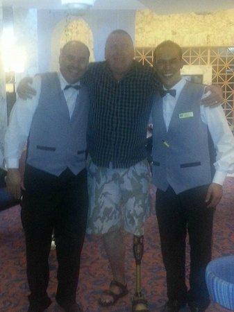 Marhaba Beach Hotel: Salem & Sami excellent staff