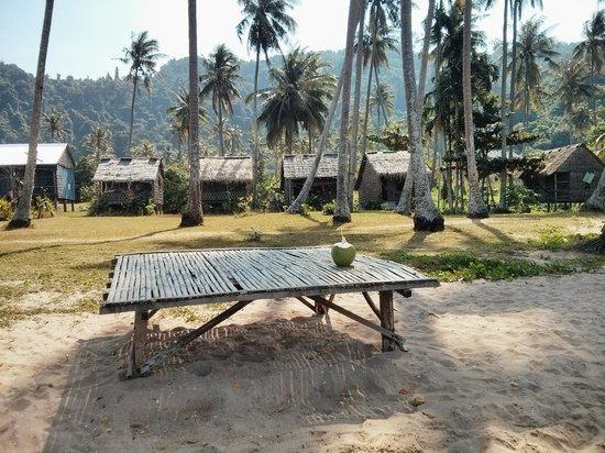 Koh Tonsay (Rabbit Island): Main beach