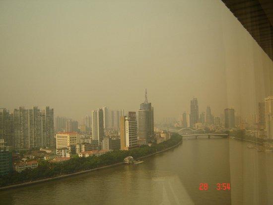 RiverSide YHA: вид из окна номера