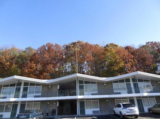Fall at Colony House Motor Lodge