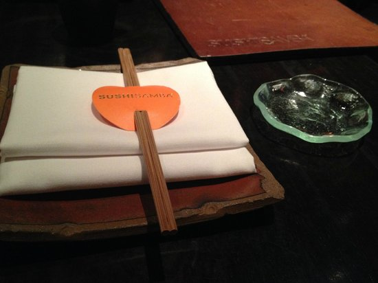 Sushisamba: Table Setting