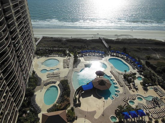 North Beach Plantation: all the beautiful pools
