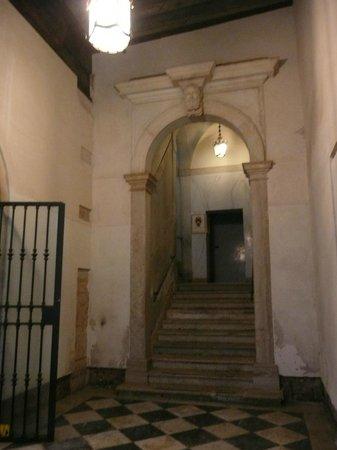 Palazzo Bembo : Treppe zum Nebenausgang
